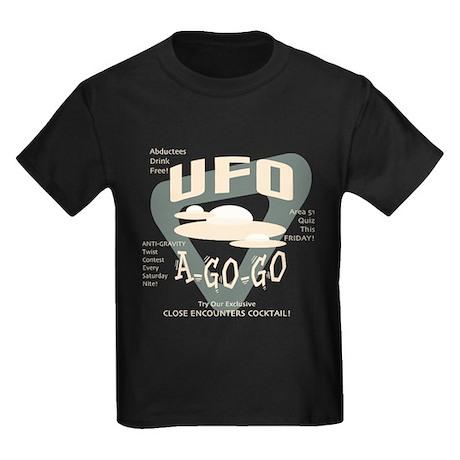 UFO A Go Go Kids Dark T-Shirt