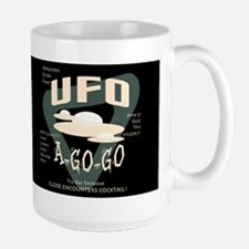 UFO A Go Go Dark Mug