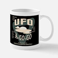 UFO A Go Go Dark Small Mugs