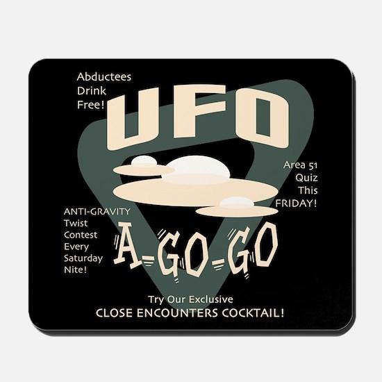 UFO A Go Go Mousepad
