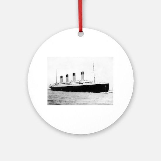 Titanic Round Ornament