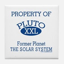 Pluto (blue) Property Tile Coaster