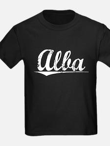Alba, Vintage T