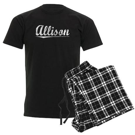 Allison, Vintage Men's Dark Pajamas
