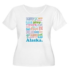 Alaska Eat Sleep Dream T-Shirt