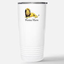 Personalized Lion Mugs