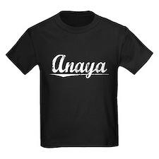 Anaya, Vintage T