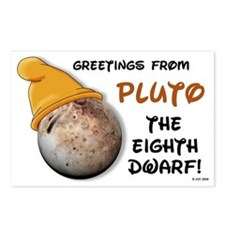 Pluto The 8th Dwarf! Postcards (Package of 8)