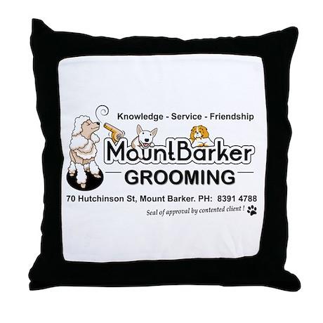 Mount Barker Grooming Throw Pillow