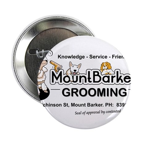 """Mount Barker Grooming 2.25"""" Button"""