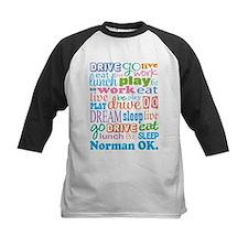 Norman Oklahoma Eat Sleep Tee