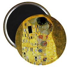 "The Kiss by Gustav Klimt 2.25"" Magnet (10 pac"
