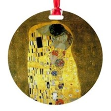 The Kiss by Gustav Klimt Ornament