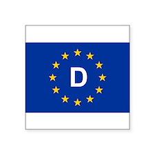 EU Germany Sticker