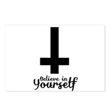 Believe In Yourself with Inverted Cross Postcards
