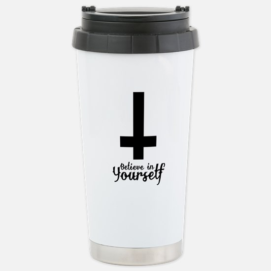 Believe In Yourself with Inverted Cross Stainless