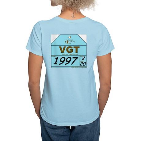 VGT North Las Vegas, NV Women's Pink T-Shirt