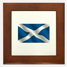 Scottish Saltire Framed Tile