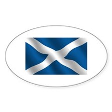 Scottish Saltire Decal