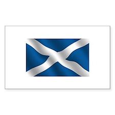 Scottish Saltire Decal