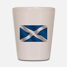 Scottish Saltire Shot Glass