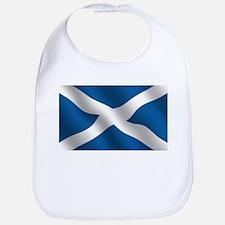 Scottish Saltire Bib
