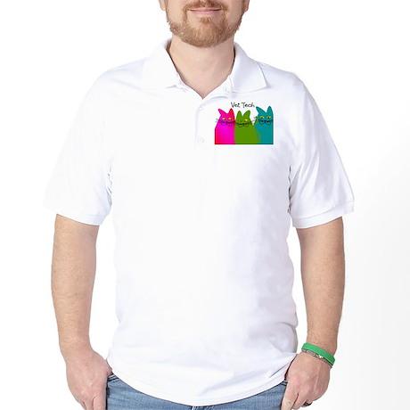 vet tech whim cats.PNG Golf Shirt