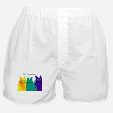 vet secretary.PNG Boxer Shorts