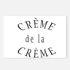 Creme de la Creme Postcards (Package of 8)
