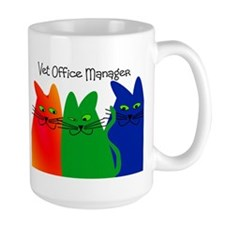 vet office manager.PNG Mug