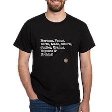 Mercury, Venus ... & Nothing! Black T-Shirt