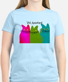 Vet Assistant whim cats.PNG T-Shirt