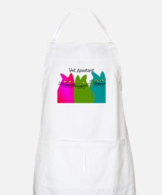 Vet Assistant whim cats.PNG Apron