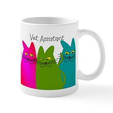 Vet Assistant whim cats.PNG Mug