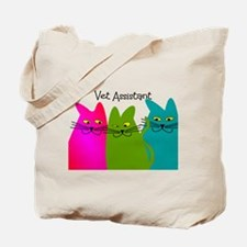 Vet Assistant whim cats.PNG Tote Bag
