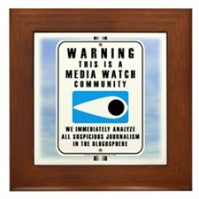 Media Watch Framed Tile