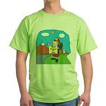 32nd degree goal Green T-Shirt