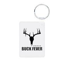 Buck Fever Aluminum Photo Keychain