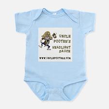Uncle Pooter's Headlight Sauce Infant Bodysuit