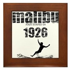 malibu 1926.jpg Framed Tile