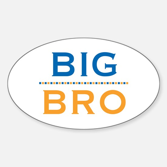 Big Bro Oval Decal