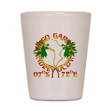 Diego Garcia Roundell Shot Glass
