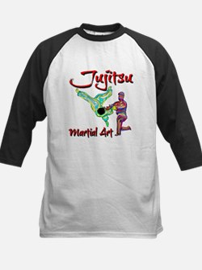 Jujitsu Kids Baseball Jersey