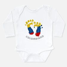 Cute Colombian Long Sleeve Infant Bodysuit