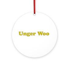 Unger Woo - Ornament (Round)