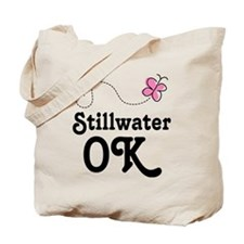Stillwater Oklahoma Butterfly Tote Bag