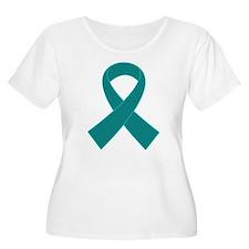 Teal Ribbon Awareness T-Shirt
