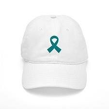 Teal Ribbon Awareness Cap
