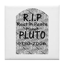 Pluto - RIP Tile Coaster