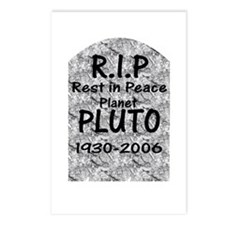 Pluto - RIP Postcards (Package of 8)